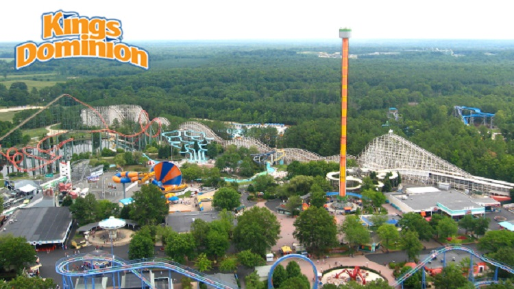 King's Dominion Amusement Park Tickets