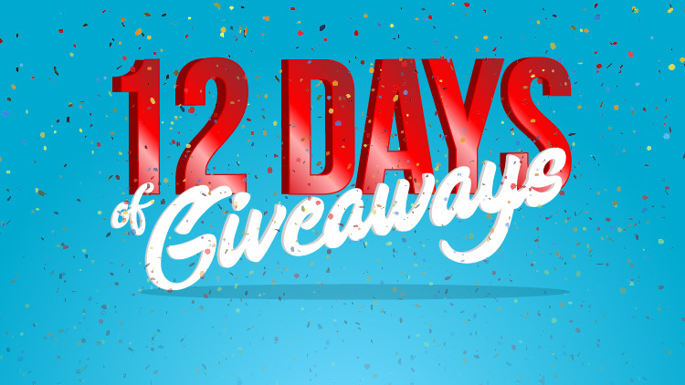 12 Day of Giveaways