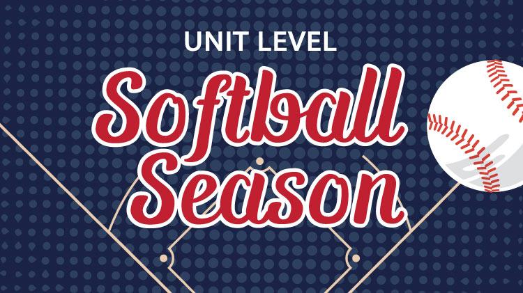 Unit-Level Softball Registration