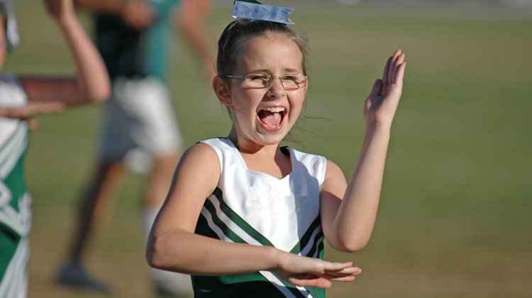 Youth Sports Registration: Football Cheerleading