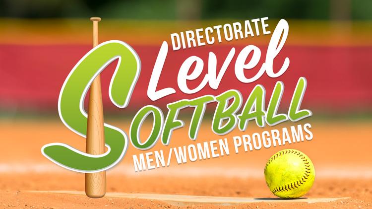 Registration: Fall 2018 Directorate-Level Softball