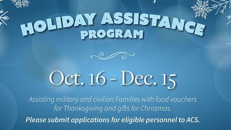 Holiday Assistance Program
