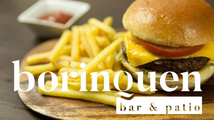 Borinquen Bar Regular Menu