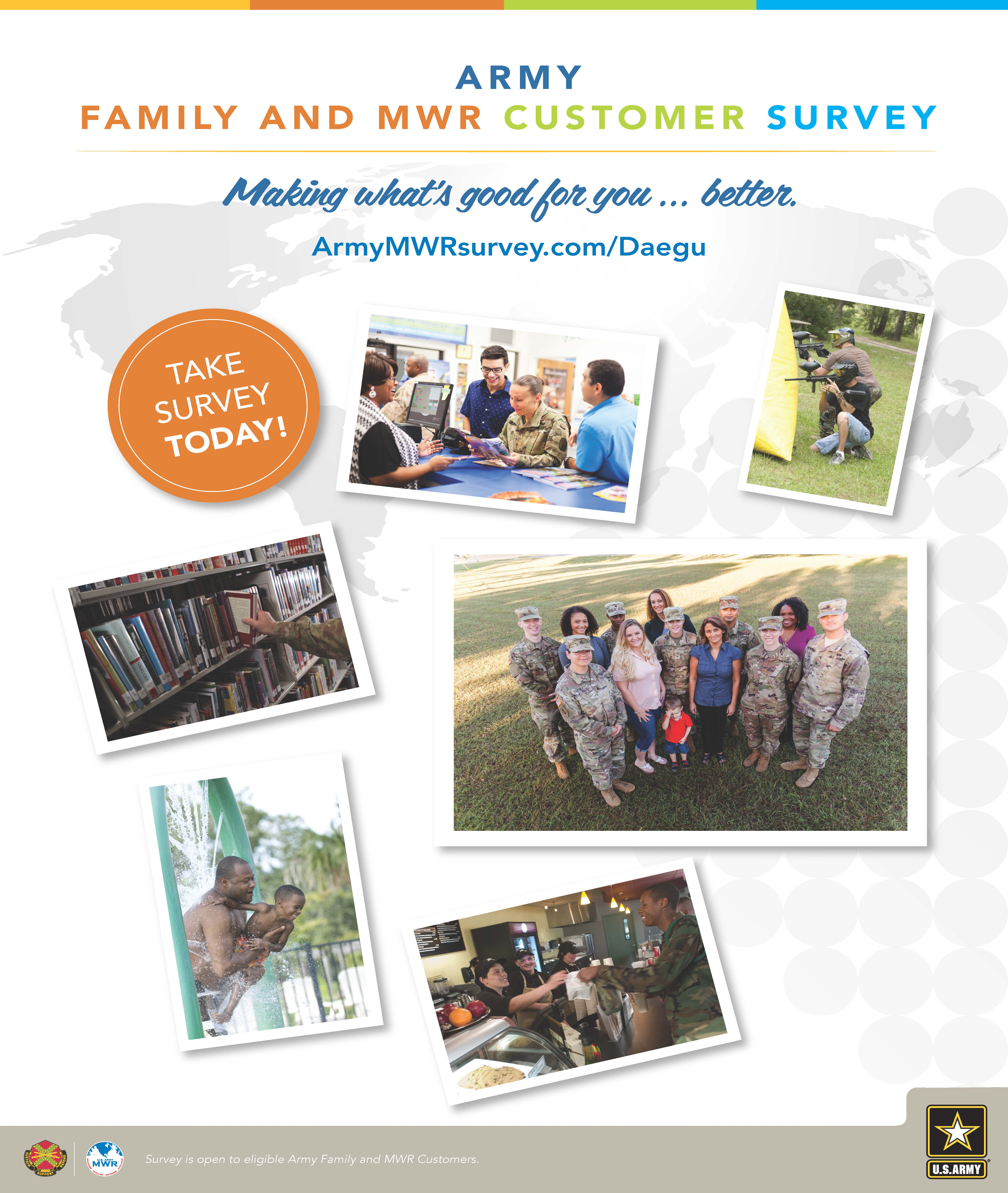 Army Family and MWR Customer Survey