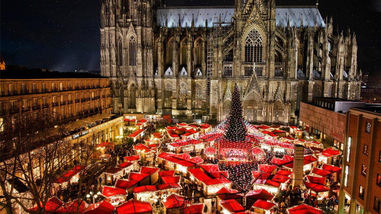 Cologne Christmas Market Day Trip