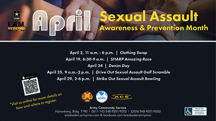 Sexual Assault Awareness and Prevention Month Events