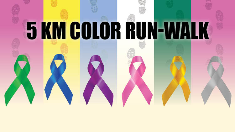 National Cancer Prevention Month 5 KM Color Run-Walk