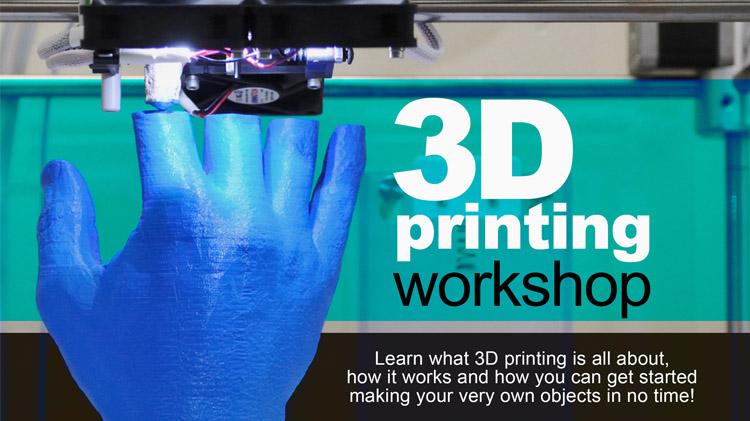 Teen Tech Week 3D Printer Demo