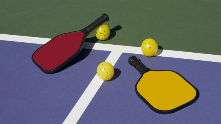 Couple's Pre-Holiday Pickleball Challenge