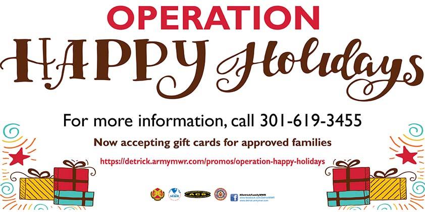 Operation Happy Holiday