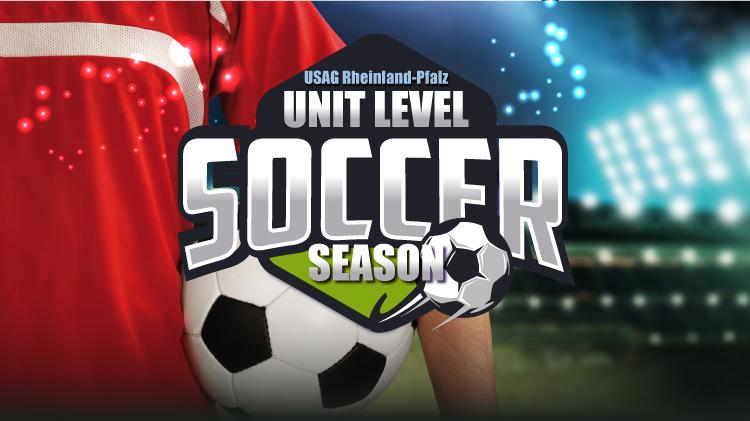USAG Rheinland-Pfalz Unit Level Soccer Season