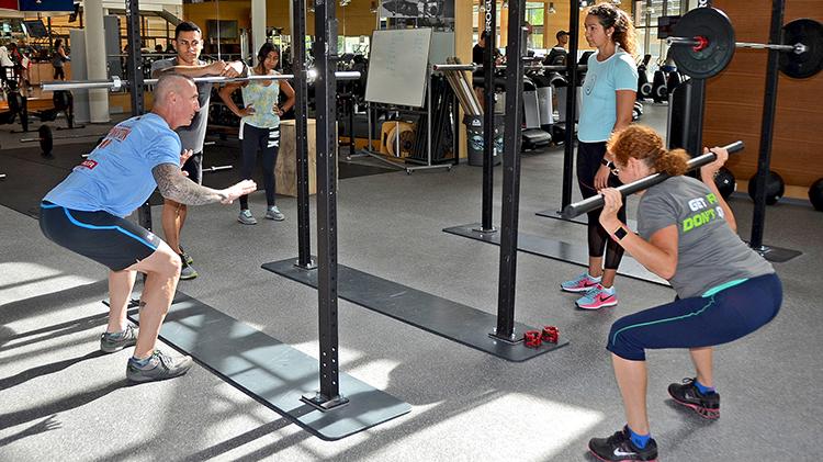 Muscle Pump Fitness Class