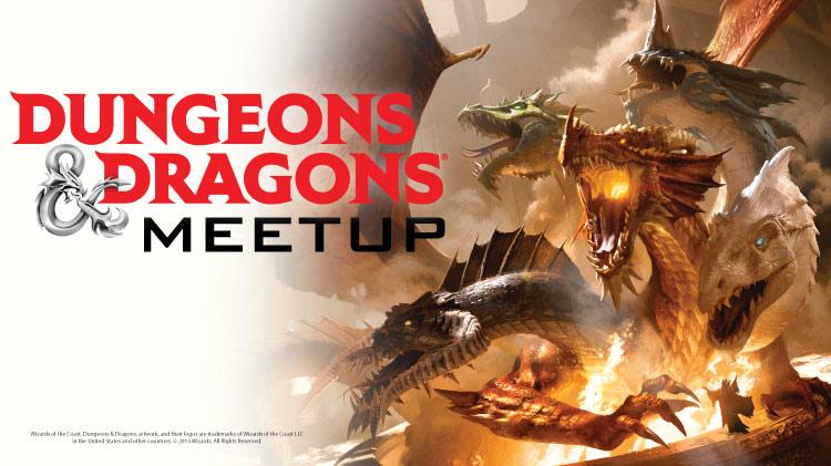 Dungeons & Dragons Meet Up
