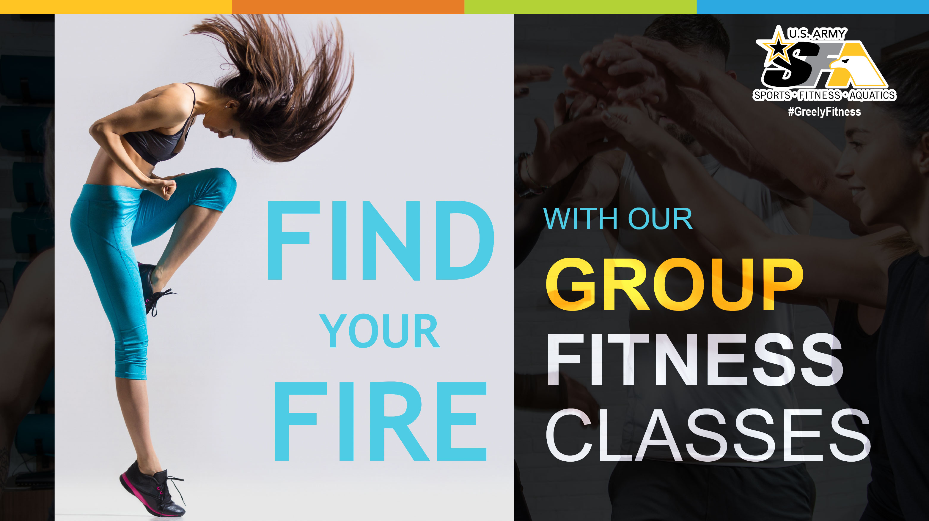 Group Fitness Classes - August