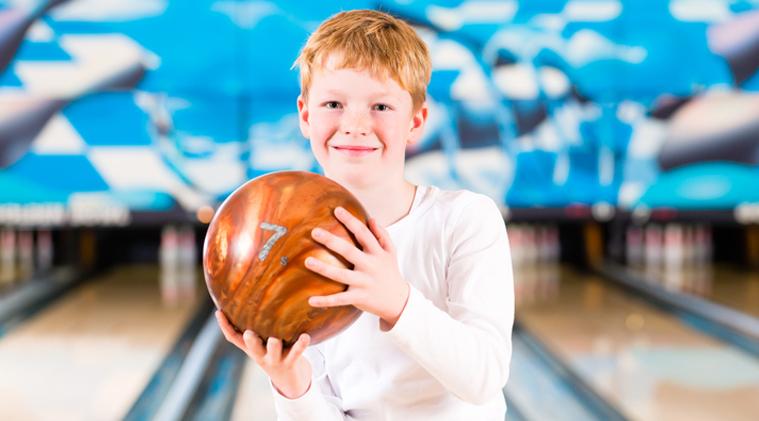 School Break Fun-Bowling and Climbing
