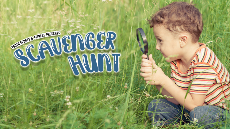 Youth Sports & Fitness Scavenger Hunt