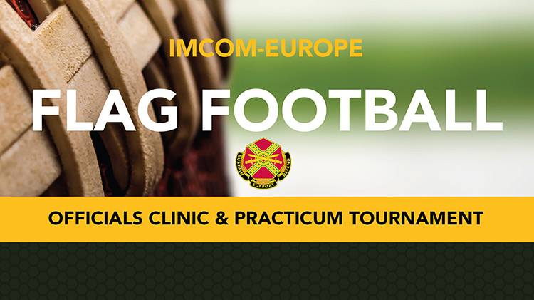 IMCOM-Europe Flag Football Officials Clinic