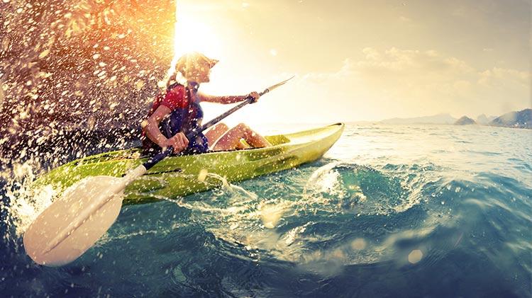Sea Kayaking at Lake Garda