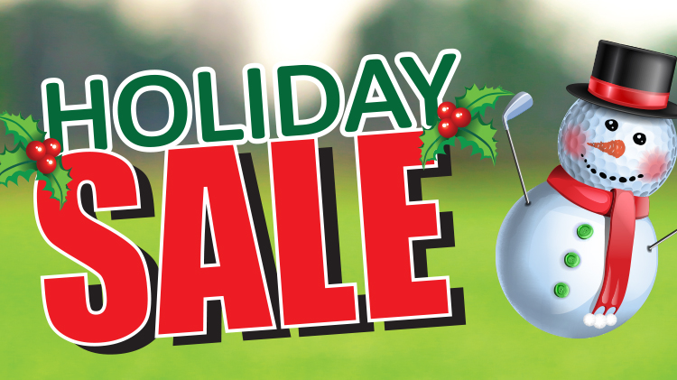 Holiday Golf Sale