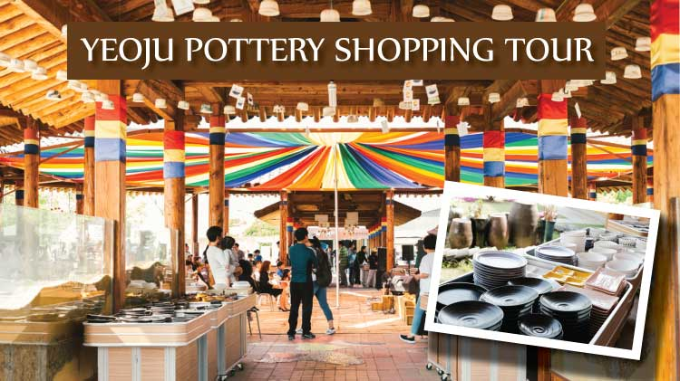 YEOJU POTTERY SHOPPING TOUR