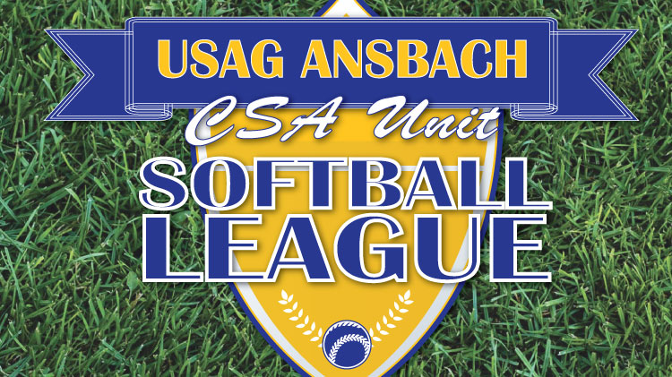 2017 USAG Ansbach Unit Level Softball League