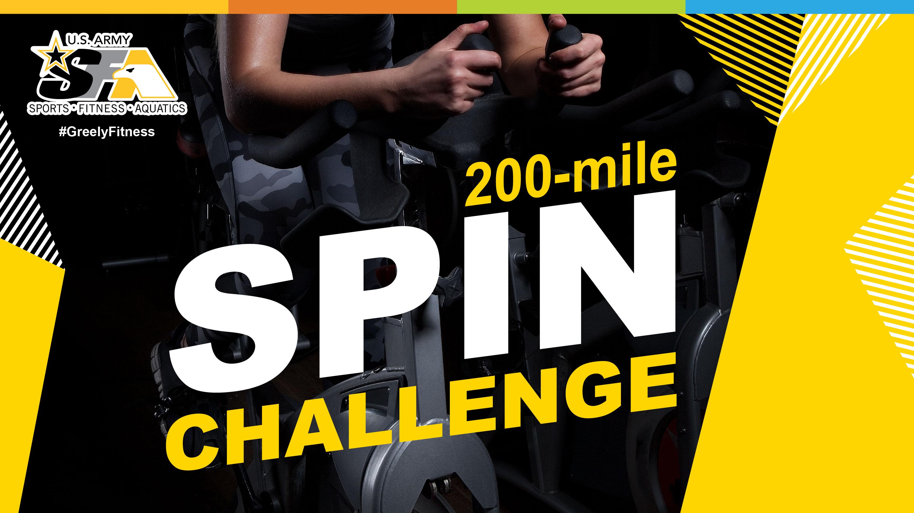 200-mile Spin Challenge