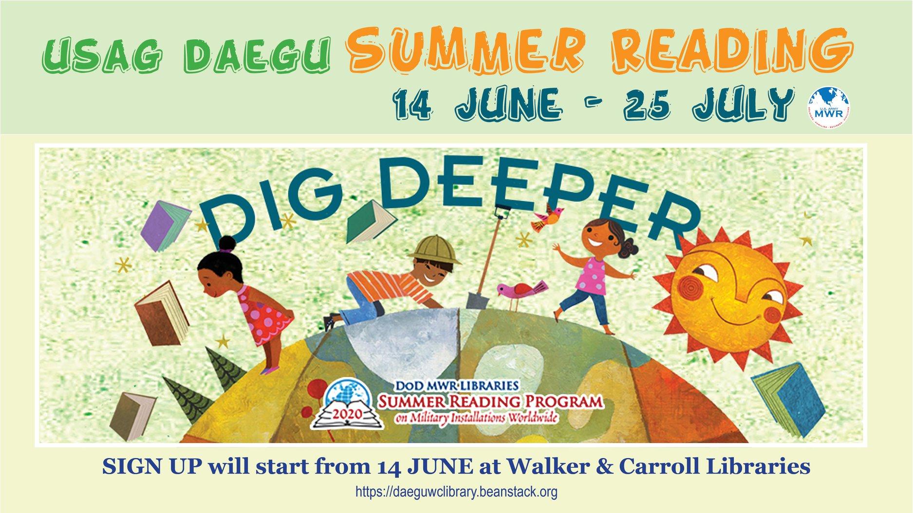 USAG DAEGU Summer Reading