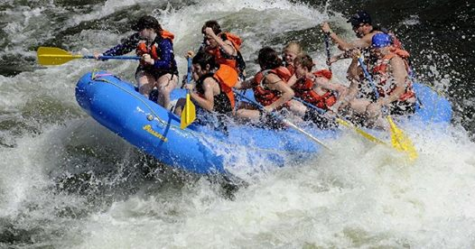 Memorial Day White Water Rafting and Canyoning