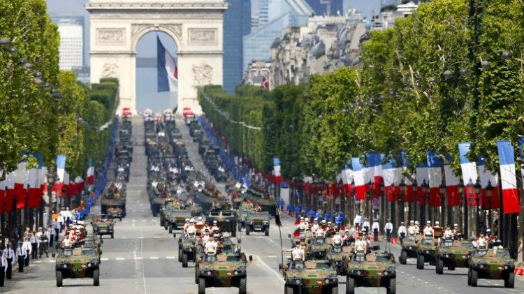 Bastille Day Weekend in Paris