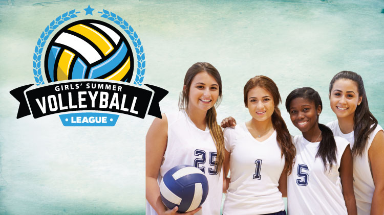 Youth Sports Girls' Summer Volleyball League