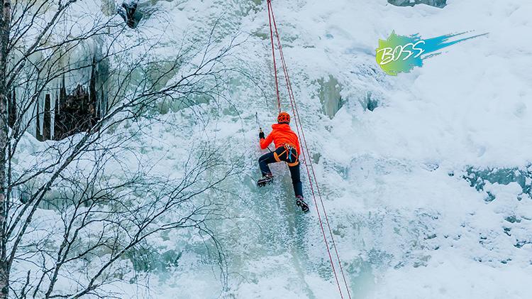 B.O.S.S. Ice Climbing with ODR