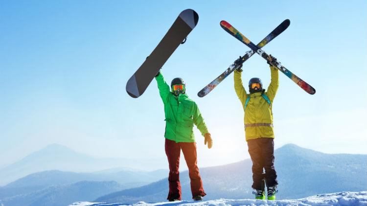 Ski/Snowboard Lessons at Bottrop
