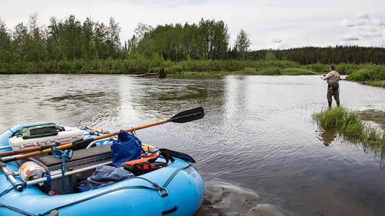 Gulkana River Float and Fishing Trip