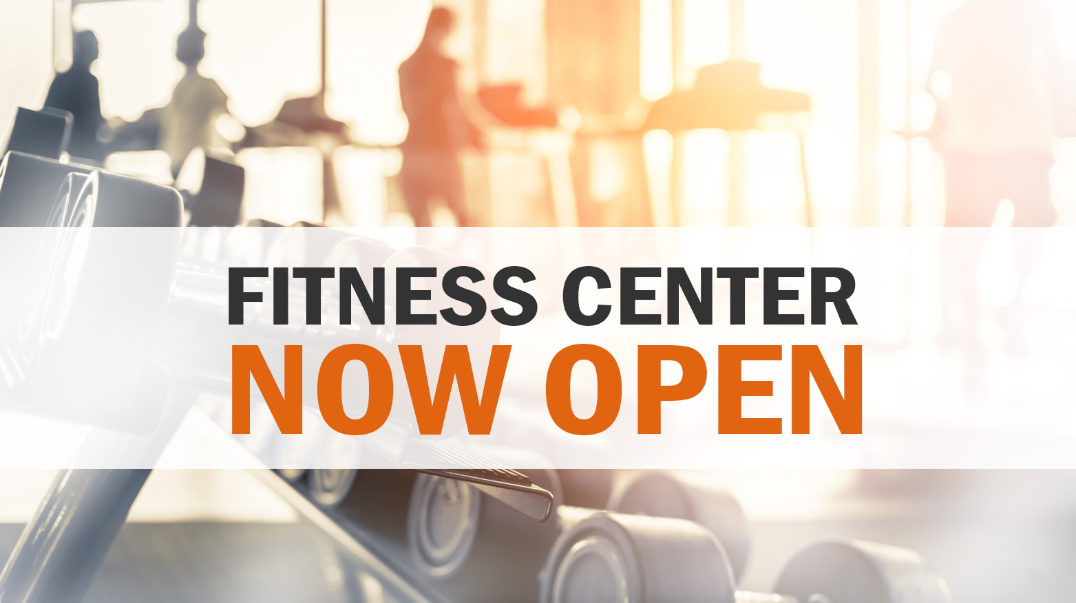 Katterbach Fitness Center is NOW OPEN!