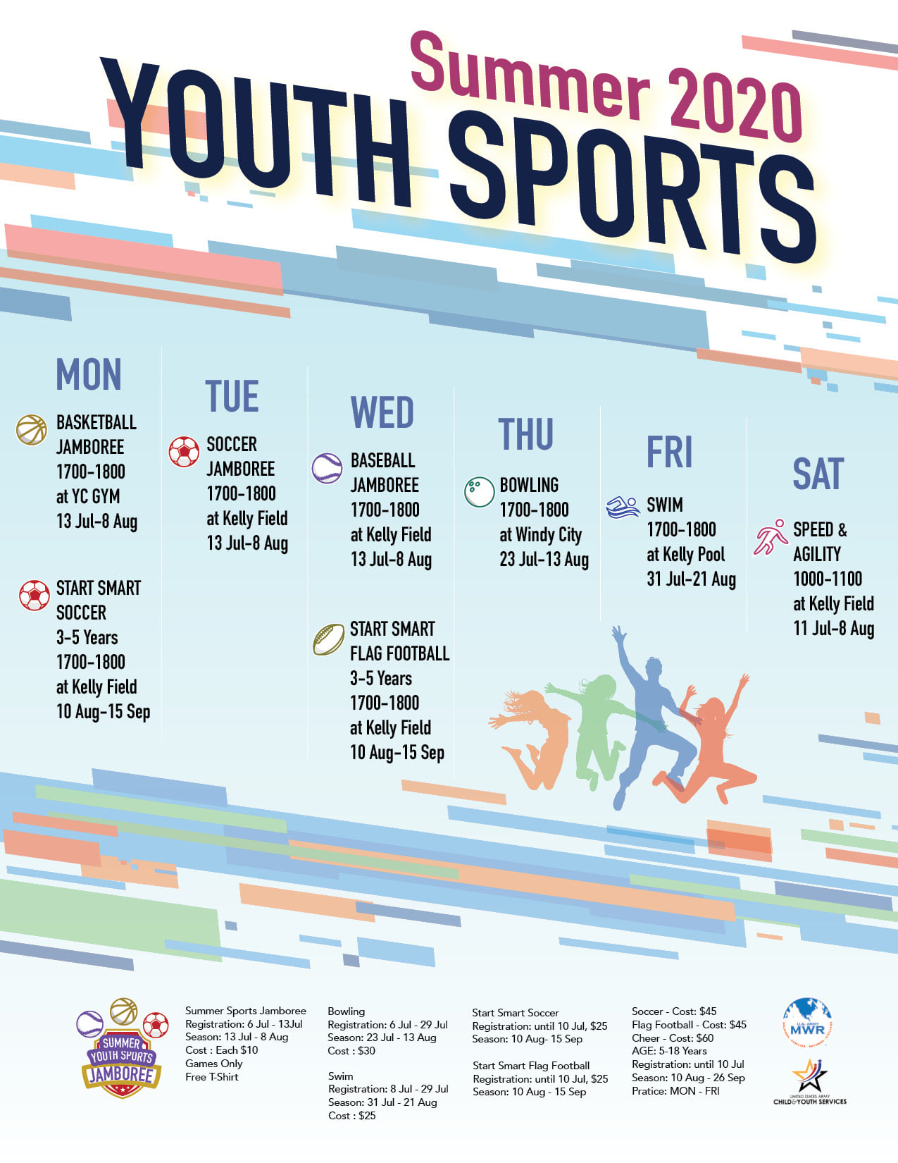 Summer 2020 YOUTH SPORTS