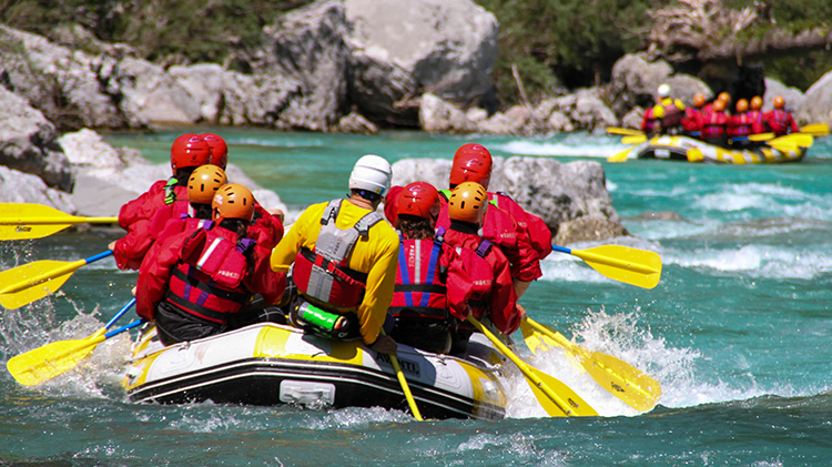 White Water Rafting, Klettersteig and Canyoning in Austria