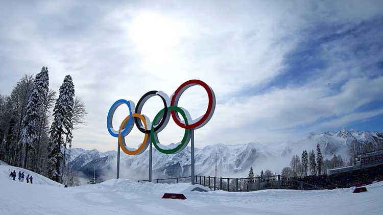 Win big during the Winter Olympics!